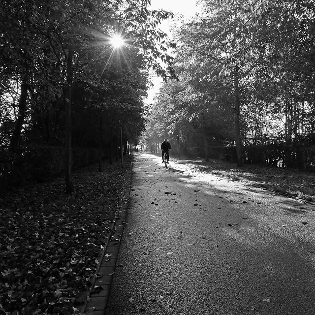 high noon in autumn