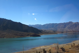 Views from the Ride Between Mendoza, Argentina and Santiago, Chile   by blueskylimit