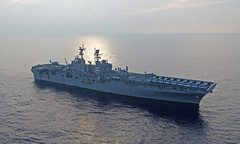 USS Bonhomme Richard (LHD 6) file photo. (U.S. Navy/MC2 Sarah Villegas)