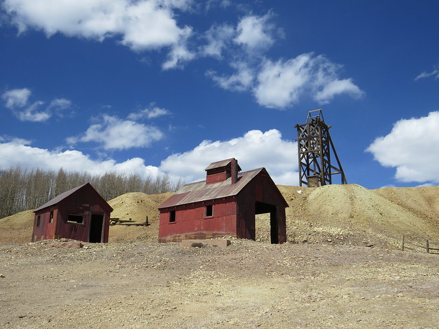 At the Hoosier Mine Site