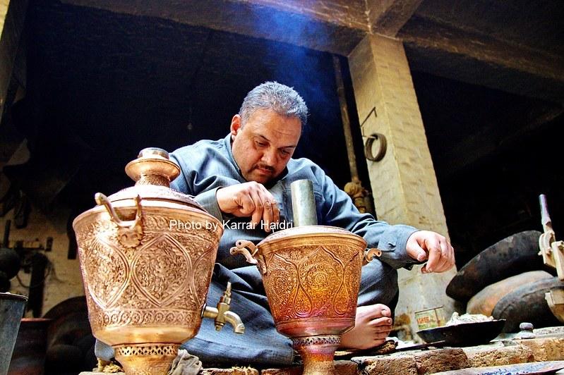Brass & Copper Market Peshawar