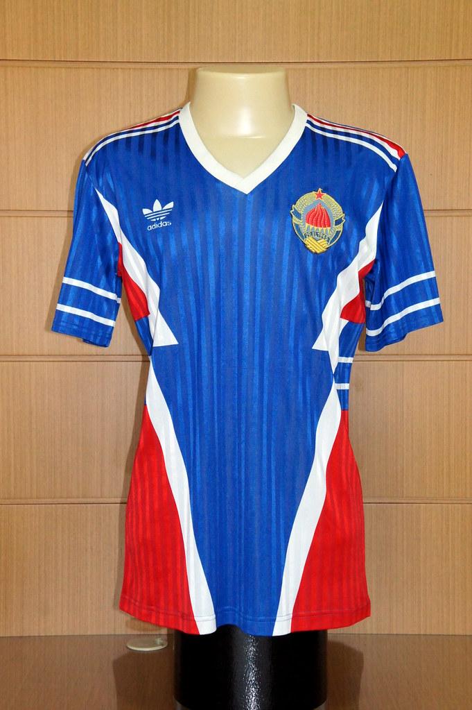 4a6d4f4aa4d ... Yugoslavia – 1990 home shirt (match worn)