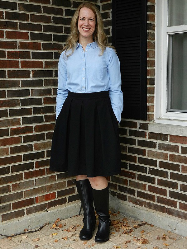 Oxford and Skirt 1
