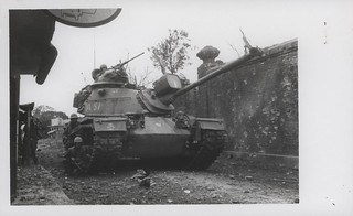 Tanks Support Marines at Hue City, 12 February 1968
