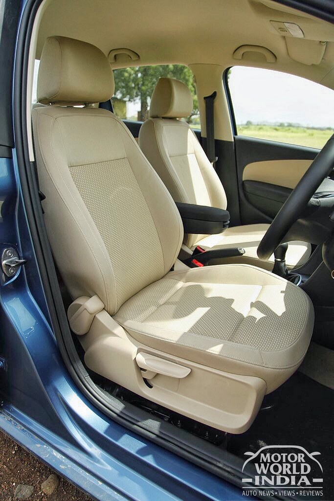 Excellent Volkswagen Ameo Diesel Interior Front Seat Processed With Ocoug Best Dining Table And Chair Ideas Images Ocougorg