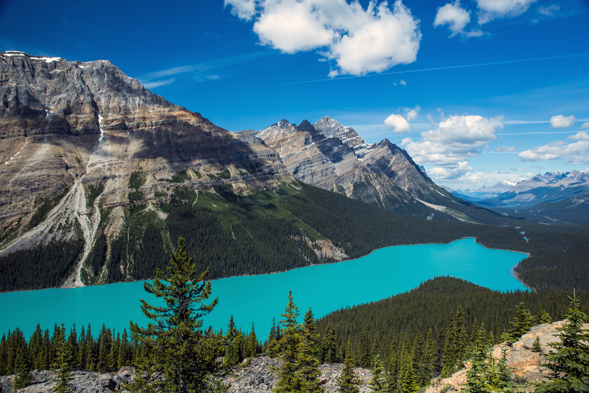 Peyto Lake, Banff National Park by Mala Gosia [1200 × 800]