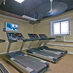 Save on the monthly gym fee, and work out for free in your in-building Fitness Center.