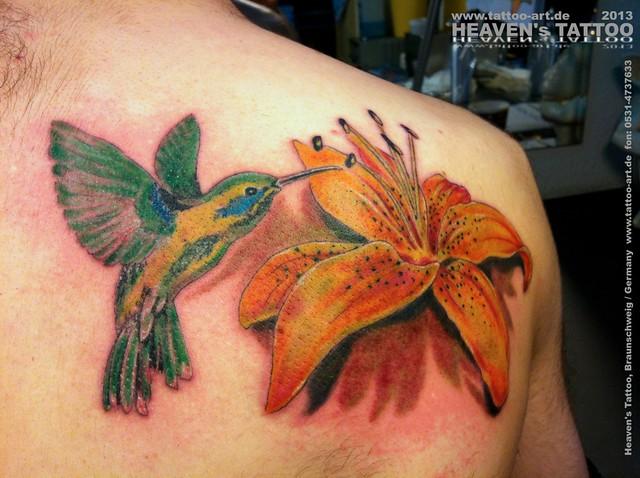 Orange Lilie