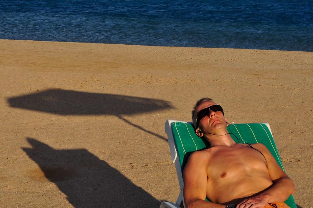 Sunbathing to music | Egypt | Winniepix | Flickr