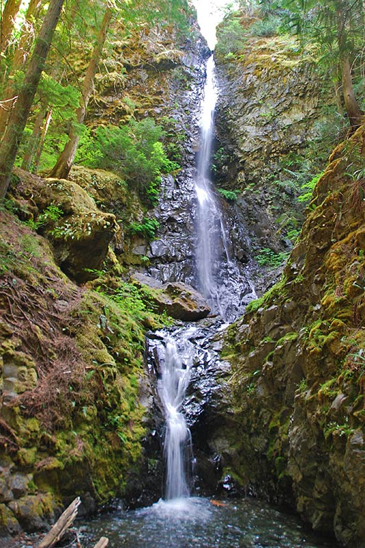 Lupin Falls, Strathcona Provincial Park, Vancouver Island, British Columbia, Canada