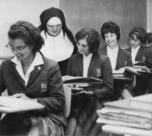 CB Sister Of Notre Dame De Namur Teaching In 1964 Sacramen