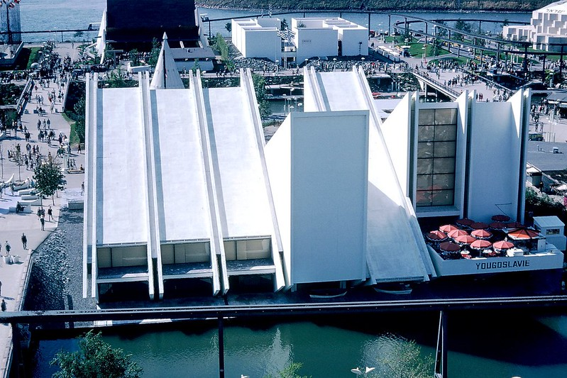Montreal Expo 67 - Yugoslavia Pavilion