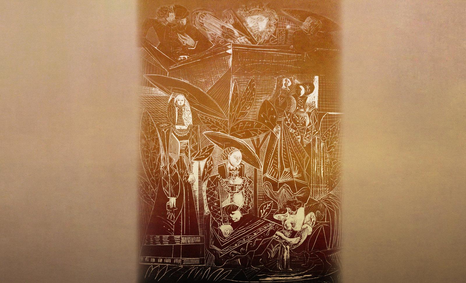 David y Betsabé, visualización de Lucas Cranach el Viejo (1526), interpretaciones y paráfrasis de Pablo Picasso (1947).