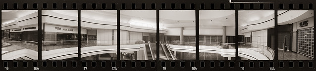 Hilltop Mall octaptych