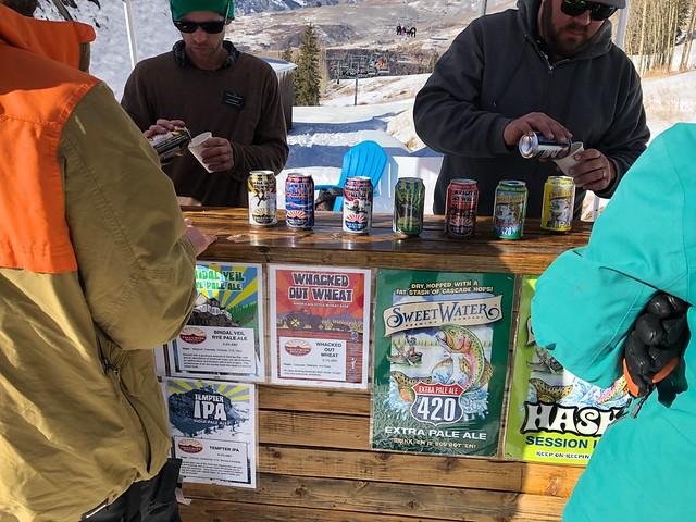 日, 2018-01-14 15:49 - Telluride Brewing Companyのテイスティングイベント