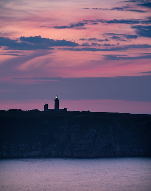 Crépuscule au Cap Fréhel