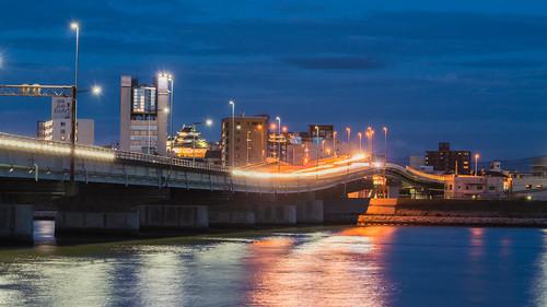 和歌山市 紀ノ川大橋 夜景