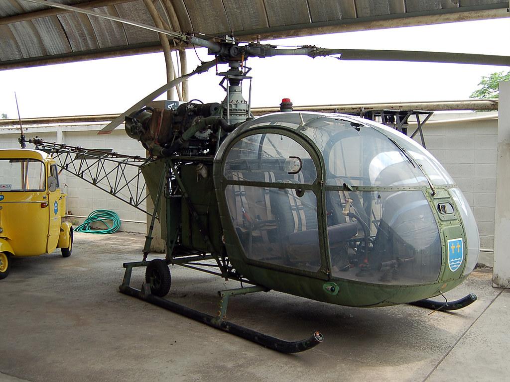 75+16 Sud Aviation SE 3130 Alouette II (Ex German Army) | Flickr
