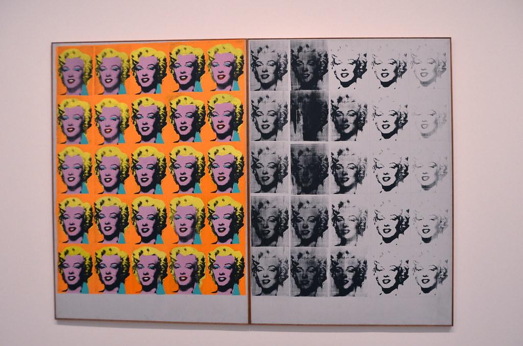 Marilyn Diptych | Tate Modern, Southwark, London, England ...