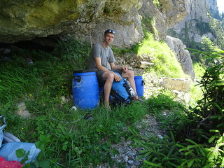 The bivy, each visit comfort improvement | by scalamalade.ch