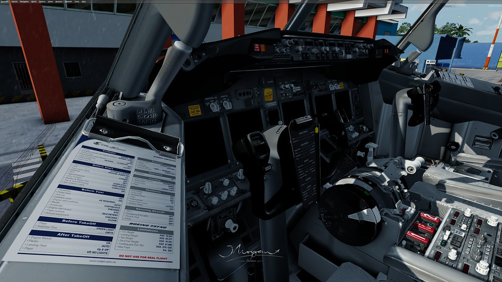737PMDG-P3D-v4 3   PC Specs : ▻Case Cosmos SE ATX