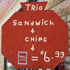 STOP for a TRio: SaNdWiCh & CHiPS & PePsicoLa