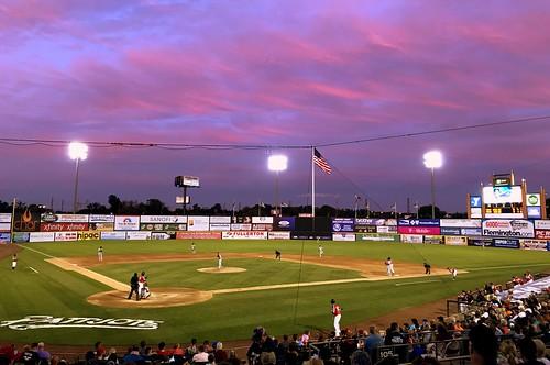 td bank ballpark bridgewater nj somerset patriots baseball stadium independent league sunset