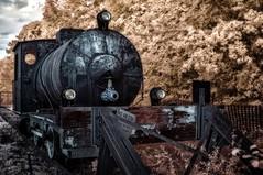 Infrared - steam reservoir engine