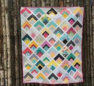 Mod Squares quilt