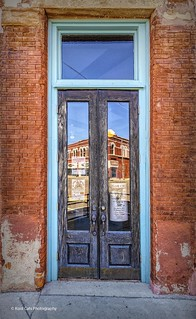The Reflection in the Door_HDR | by Kool Cats Photography over 13 Million Views
