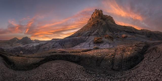 Mount Doom Aflame