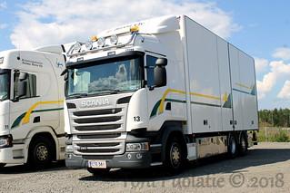 Kuljetuspalvelut Teemu Sirén Oy CTE-381   by puolatie95