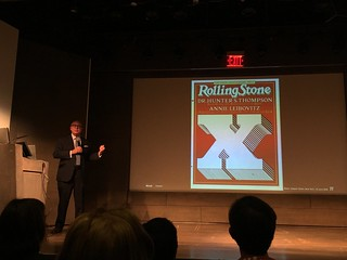 Rolling Stone 10th anniversary cover illustrate dby Jim Parkinson