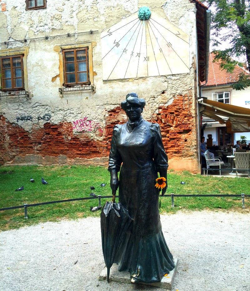 Zagreb Statues