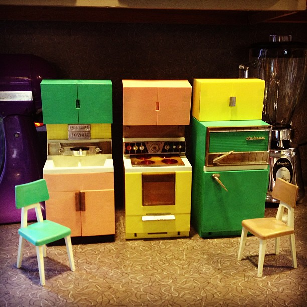 Outstanding You Guys I Found This Amazing 1960S Vintage Toy Kitchen Andrewgaddart Wooden Chair Designs For Living Room Andrewgaddartcom