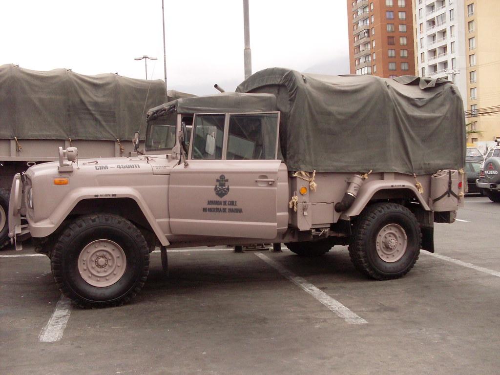 Camioneta 4x4 Kia Km 450 Dim N 1 Lynch Mowag Flickr
