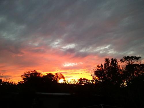 sunset australia newsouthwales oldbar samsunggalaxys 2012roadtriptosydney