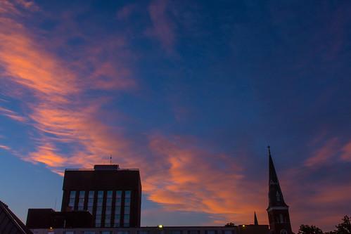 newyork church architecture sunrise buildings unitedstates watertown