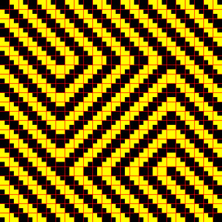 Optical illusion: All the lines are straight   by Robson#
