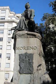 Buenos Aires - Balvanera: Monumento a Mariano Moreno   by wallyg