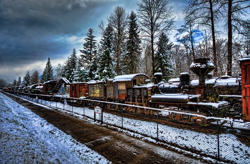 winter snow pacificnorthwest hdr steamlocomotives oldtrains shaylocomotives canonxsi snoqualmietrains fresnatic anoqualmiewashington
