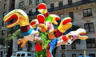 Serpent Tree: Niki de Saint Phalle on Park Ave