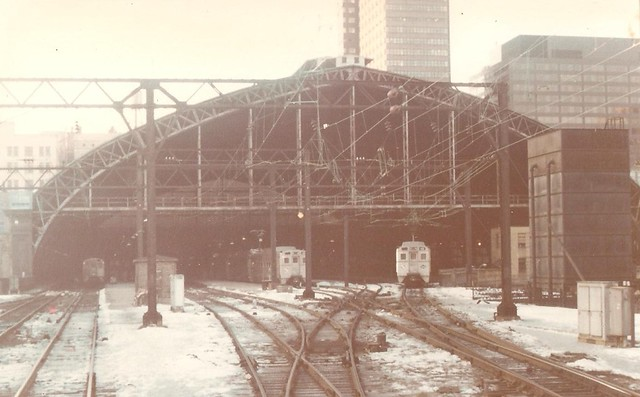 The great trainshed of Reading Terminal in Philadelphia