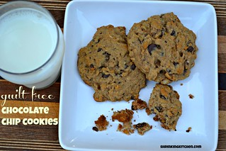 guilt free chocolate chip cookies | by Heather@MamaSass