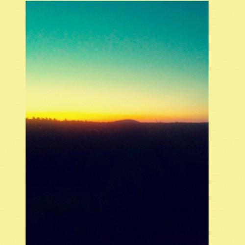 sunrise square landscapes squareformat santafenm iphoneography ipadcamera instagramapp uploaded:by=instagram
