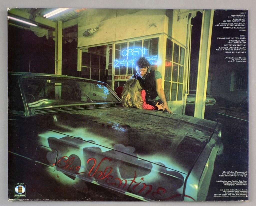Tom Waits Blue Valentine Foc Vinyl