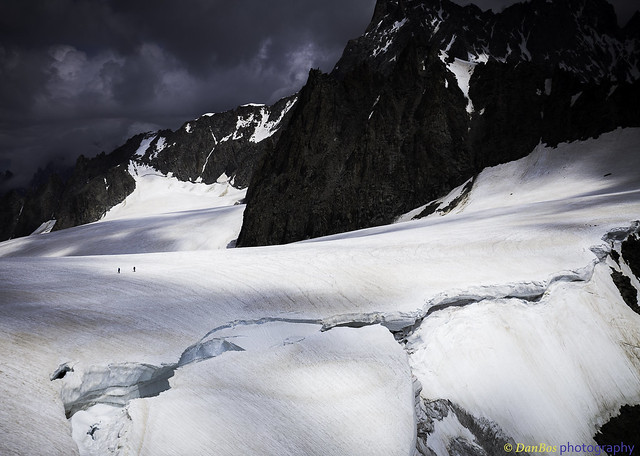 Mont Blanc - walking on the Border ...