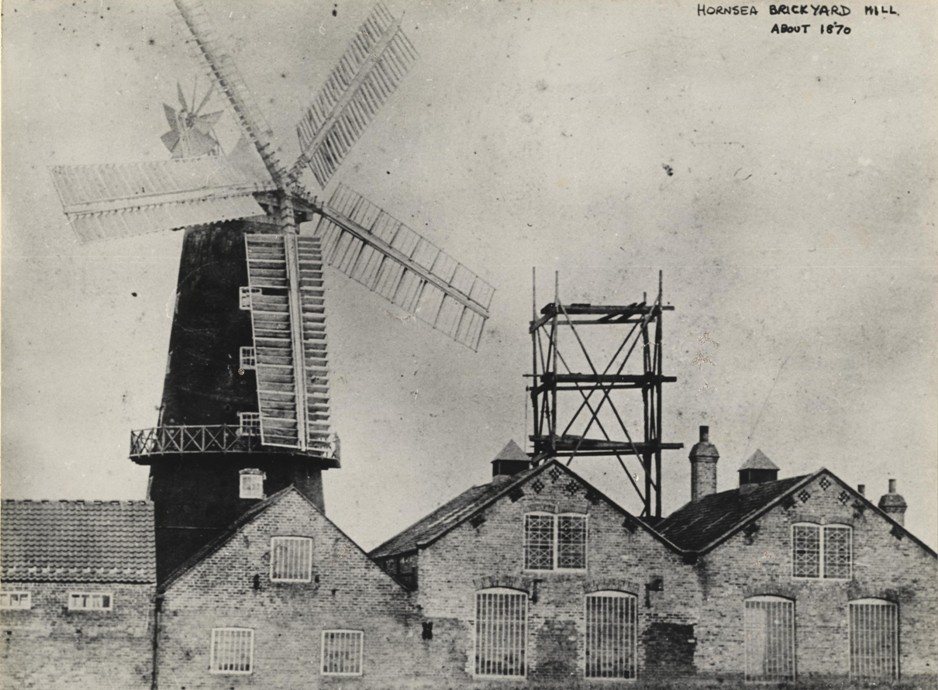 Hornsea Brickyard Mill 1870 (archive ref DDX1687-3-2)