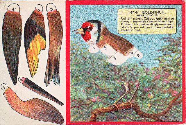 chromo turnwrights toffee  - turner & wainwright  - brighouse - goldfinch