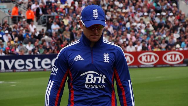 Eoin Morgan of England